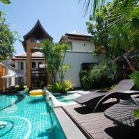 芭提雅泰式典藏四合院别墅 1700平花园泳池