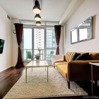 Instant Suites- Luxurious 1BR in Heart of Downtown with Balcony