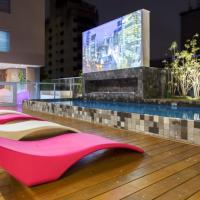 Apartamento c/infinity pool prox shopping Frei Caneca 704