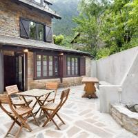 Luderna - Casa con terraza dera Aubeta