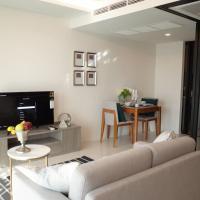 Circle Rein 88/87+Bangkok-Asok+2double beds+46m2+4pplmax
