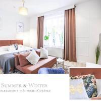 Luxury Park Oliwski, plaża Jelitkowo, 75m2, 4 pokoje, 2 łazienki, 2-10 osób