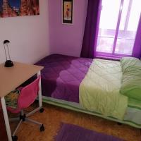 Habitación en Zona de Lujo metro Buenos Aires - hab3