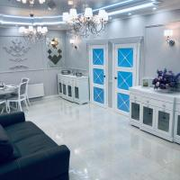 White apartments in Arcadia