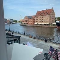 Nowoczesny apartament z pieknym widokiem Motława
