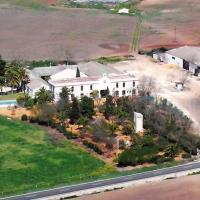 Casa en la campiña sevillana con piscina exclusiva