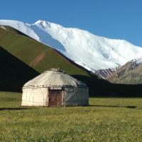 Yurt camp Tilek