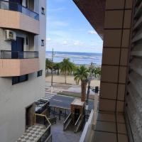 Apartamento pé na areia de frente para a praia - Vila Tupi