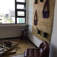 Top floor apartament in Edificio Lubia, Historic City Centre of Guatemala