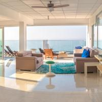 Panoramic Mediterranean blues penthouse