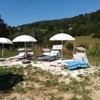 Area picnic le pratera con alloggi in tenda