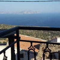 Traditional sea view apt in Nisyros