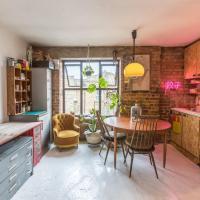 Artists nest in East London
