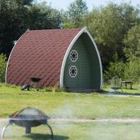 Relaxing Camping Pod near Lake