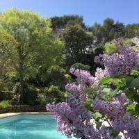 Mazet indépendant sur jardin/piscine