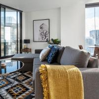 2Bedroom Apartment with Views in Docklands next to CBD & Marvel Stadium