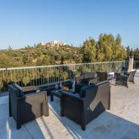 Luxury, with breathtaking view home under Acropolis