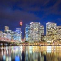 Darling Harbour ICC 3BR+PARKING+VIEWS 达令港全景豪华三房