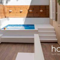 Nemeseos isogeio · Nemeseos 80m² Apartment with Roof Garden and Pool