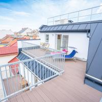 Mengergasse 32 roof top