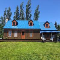 Maison du fleuve aux champs