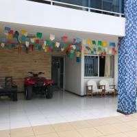 Casa na Barra de São Miguel com diária de Lancha e Cozinheira/arrumadeira