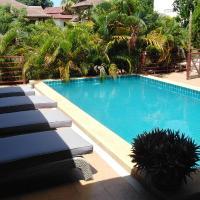 Spacious ocean view pool villa
