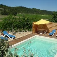 Villa Syrah avec piscine privée chauffée à 25 km de la mer
