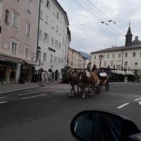 Mozart city Salzburg Austria