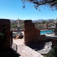 Hilltop Hacienda with panoramic views perfect for holidays or work days