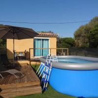 Mini villa avec piscine a Figari