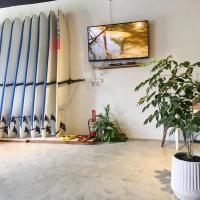 男子漢衝浪旅店
