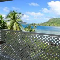 BLUE LAGOON LODGE HUAHINE/BUNGALOW, vue mer et accès privé lagon