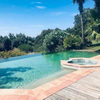 Private Sea-View Villa Saint-Tropez with Infinity Pool