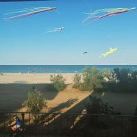 Beach house with sea sight (no streets in front) - [#123795]
