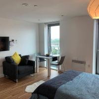 Modern Studio Apartment in Media City