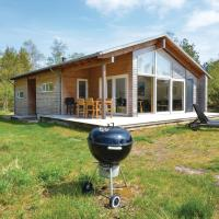 Holiday Home Knebel with a Fireplace 06