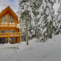 Skiing Bear Chalet