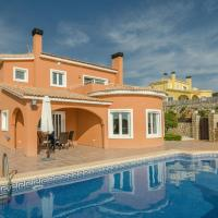Luxury Villa with Private Pool in Moraira