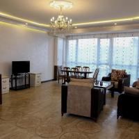 PENTHOUSE Two Bedrooms apt. with a balcony, New Building, Small Center