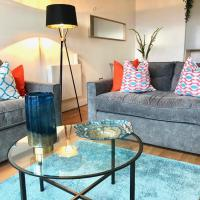 Sheffield City Centre Luxury Balcony 2 Bed, 2 Bath Apartment With Secure Parking