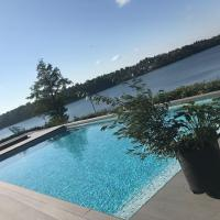 Exclusive Lakefront Estate with pools in Stockholm