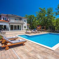 Villa Andrea with 5 bedrooms, 50 sqm private pool, a fun zone with PRO 9 Pool table, outdoor playground