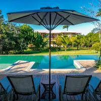 Apartamento Villa da Enseada - Praia privativa