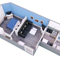 Appartement le Bareuzai