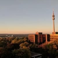 Appartment mit Blick über Dortmund