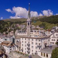 Unique Hotel Eden, hotel a Sankt Moritz