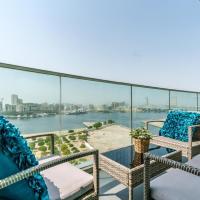 Stylish fully furnished 2BR apartment in Marsa Plaza Residence