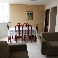 Apto mobiliado de 3 quartos , disponível para aluguel de curta e longa temporada.