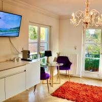 Villa am Steinhuder Meer DZ Azur mit Pant. Küche, Gartenbenutzung, Wlan, Hotel in Steinhude